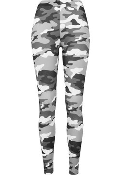 Urban Classics - Leggings - Hosen - snow camo