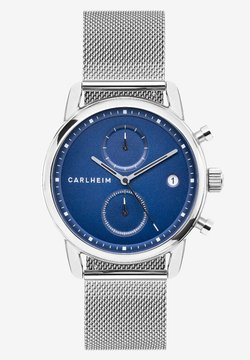 Carlheim - NICHOLAS  - Rannekello ajanottotoiminnolla - silver/blue