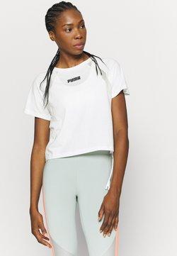 Puma - PAMELA REIF X PUMA BOXY TEE - T-Shirt print - white
