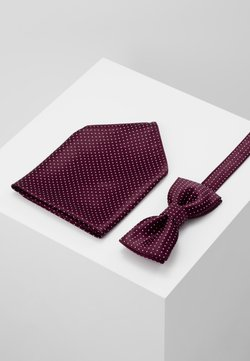 Only & Sons - ONSTBOX THEO TIE SET - Mouchoir de poche - cabernet/white