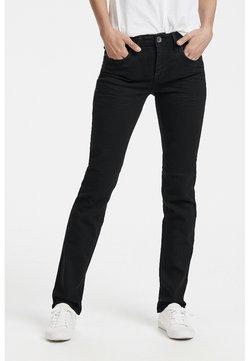 PULZ - KAROLINA - Jeans a sigaretta - black denim
