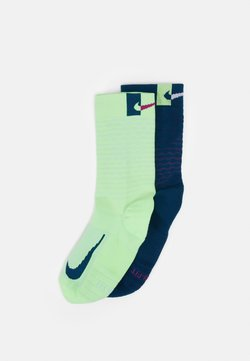 Nike Performance - MULTIPLIER CREW 2 PACK UNISEX - Calcetines de deporte - multicolor