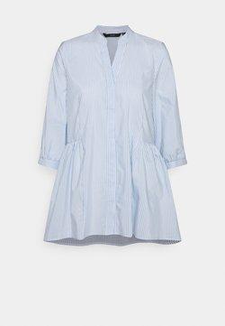 Vero Moda - VMCLARA 3/4 LONG - Bluse - snow white/cashmere blue