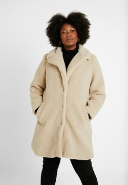 New Look Curves - BORG COAT - Talvitakki - cream