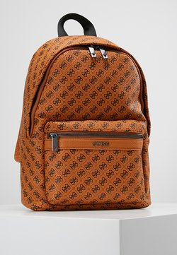 Guess - CITY LOGO BACKPACK - Reppu - orange