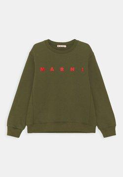 Marni - FELPA - Sweatshirt - military green