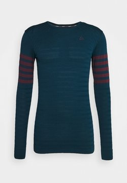 Craft - DRY FUSEKNIT BLOCKED - Camiseta de deporte - navy