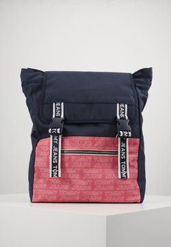 Tommy Jeans - LOGO TAPE BACKPACK - Reppu - pink