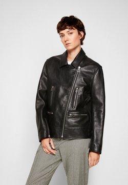 PS Paul Smith - JACKET - Leren jas - black