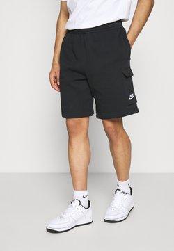Nike Sportswear - CLUB CARGO - Pantalon de survêtement - black