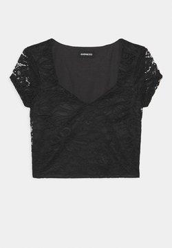 Even&Odd Tall - Print T-shirt - black