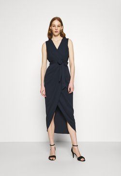 Forever New - LIZA WRAP MIDI DRESS - Etui-jurk - navy