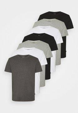 Burton Menswear London - 7 PACK - T-paita - black