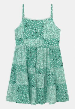 Marks & Spencer London - MIX MATCH DRESS - Freizeitkleid - green