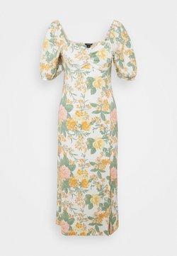 Monki - SANNA DRESS - Maxiklänning - white dusty light