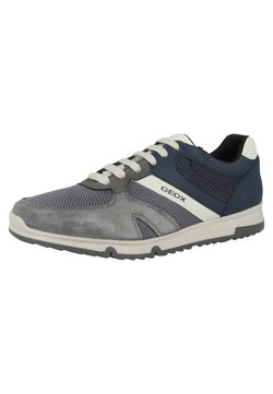 Geox - Sneaker low - anthracite-navy