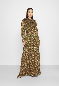 Scotch & Soda - SHEER MAXI DRESS WITH ALL OVER PRINT - Maxikleid - green