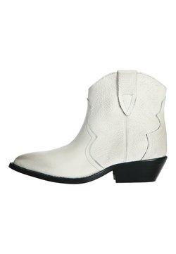 sacha - WESTERN  - Cowboy-/Bikerstiefelette - off-white