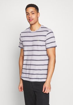 Lacoste - TH5141-00 - T-Shirt print - silver chine/white-navy blue