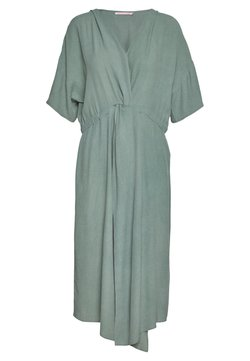 Paula Janz Maternity - DRESS SOLO TWIST - Day dress - ivy green