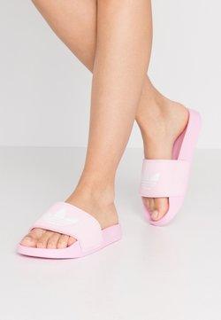 adidas Originals - ADILETTE LITE - Pantolette flach - true pink/footwear white