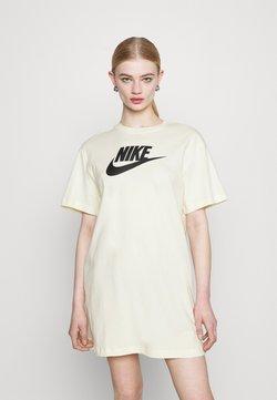 Nike Sportswear - DRESS FUTURA - Vestido ligero - coconut milk