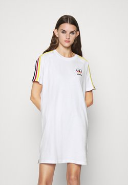 adidas Originals - STRIPES SPORTS INSPIRED DRESS - Jerseykjole - white/multicolor