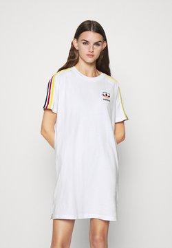 adidas Originals - STRIPES SPORTS INSPIRED REGULAR DRESS - Jerseyjurk - white/multicolor