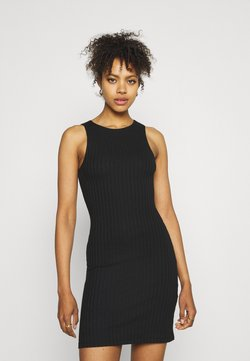 Pieces - PCTIANA DRESS - Strikkjoler - black