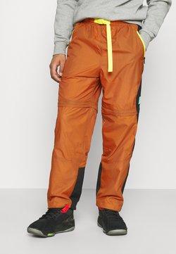 Jordan - TRACK PANT - Jogginghose - monarch/black/opti yellow