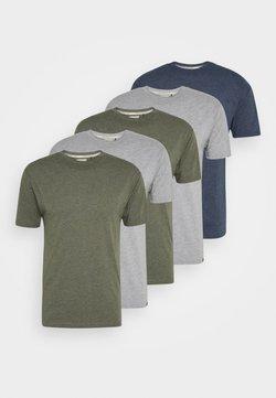 Newport Bay Sailing Club - TEE 5 PACK - T-shirt basic - mottled light grey