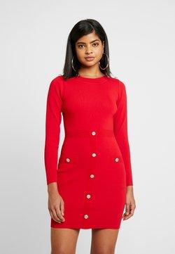 Morgan - Vestido de tubo - ruby