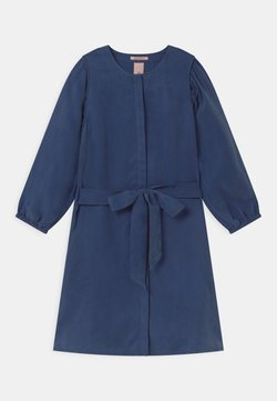 Scotch & Soda - DRAPEY VOLUMINOUS SLEEVES - Blusenkleid - ocean blue