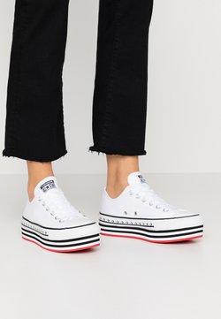 Converse - CHUCK TAYLOR ALL STAR LIFT ARCHIVAL - Zapatillas - white/black