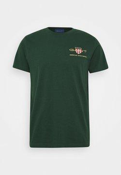 GANT - ARCHIVE SHIELD - T-shirts med print - tartan green