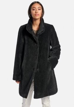 PETER HAHN - Wollmantel/klassischer Mantel - schwarz