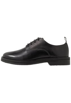 Walk London - JAZZ DERBY - Eleganckie buty - black
