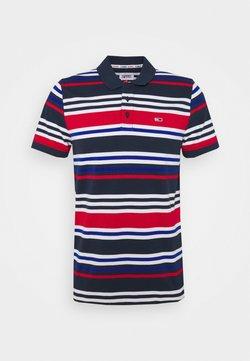 Tommy Jeans - SEASONAL STRIPE - Poloshirt - blue