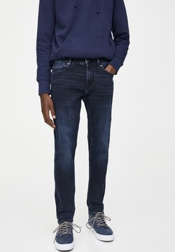 PULL&BEAR - Slim fit jeans - dark blue