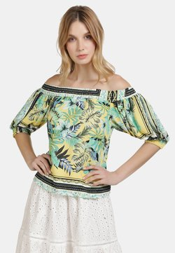 IZIA - IZIA CARMENBLUSE - Bluse - tropical print