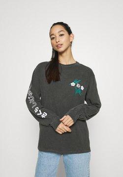 BDG Urban Outfitters - SAKURA SKATE - Langarmshirt - washed black