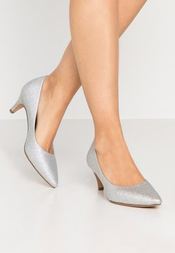 Tamaris - COURT SHOE - Escarpins - silver glam