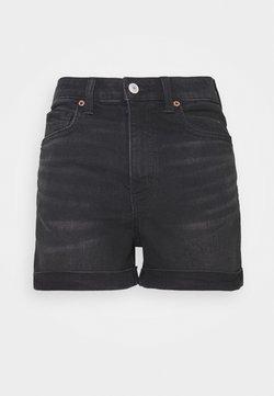 American Eagle - MOM - Jeansshort - black wash