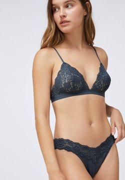 OYSHO - COMFORT - Triangel BH - dark blue