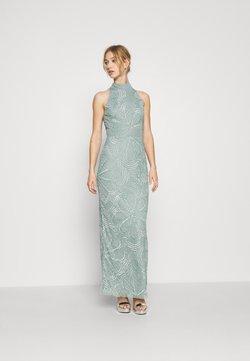 Lace & Beads - NAEVA MAXI - Vestido de fiesta - grey as nalani