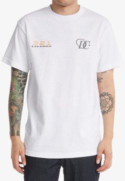 DC Shoes - LIFTOFF - T-shirt print - white