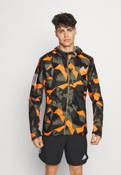 adidas Performance - OWN THE RUN - Chaqueta de deporte - legacy greepp signal orange/black