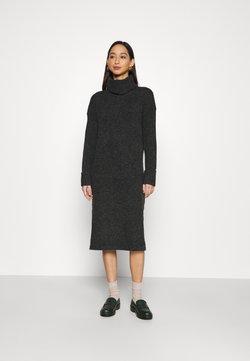 Vero Moda - VMCARINA LONG COWLNECK DRESS - Neulemekko - black