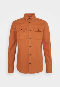 Jack & Jones - JCOCORNWALL WORKER - Koszula - amber brown