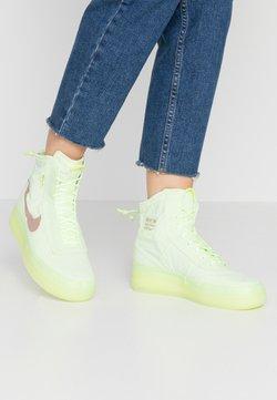 Nike Sportswear - AIR FORCE 1 - Sneaker high - barely volt/desert dust/barely volt